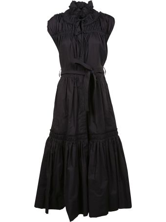 Proenza Schouler Ruffled Flared Dress