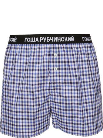 Gosha Rubchinskiy Checked Boxer Shorts