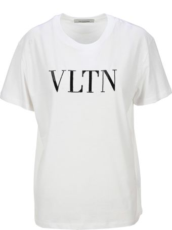 Valentino Vltn Sequines Printed T-shirt