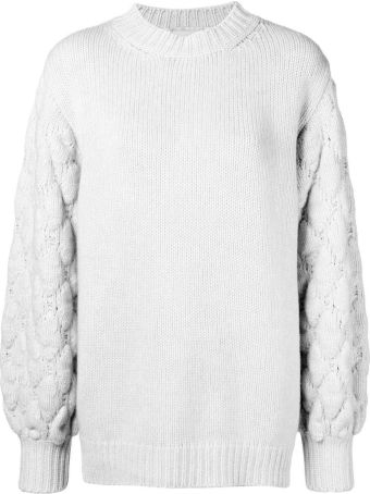 Fine Edge Wool And Cashmere-blend Oversized Sweater