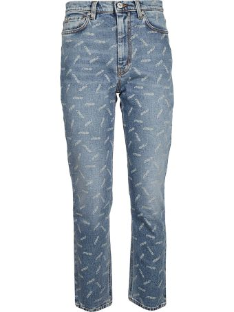 HERON PRESTON Printed Jeans
