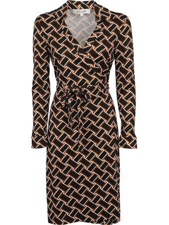 Diane Von Furstenberg All-over Print Dress
