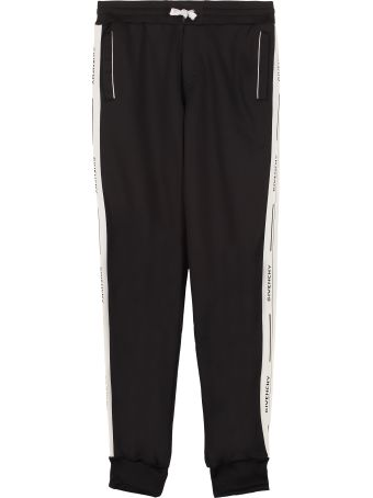 Givenchy Contrasting Side Stripes Sweatpants