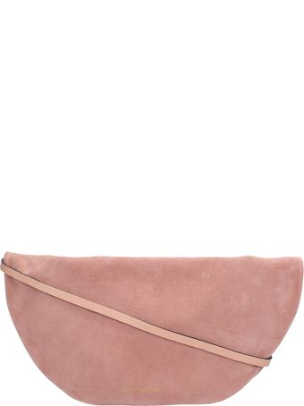 L'Autre Chose Alias Pink Suede Leather Bag