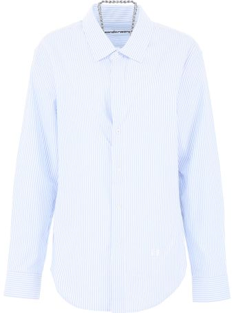 Alexander Wang Striped Shirt With Chain