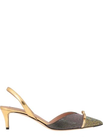 Marco de Vincenzo Slingback With Rhinestones