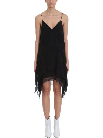 IRO Gift Black Viscose Dress