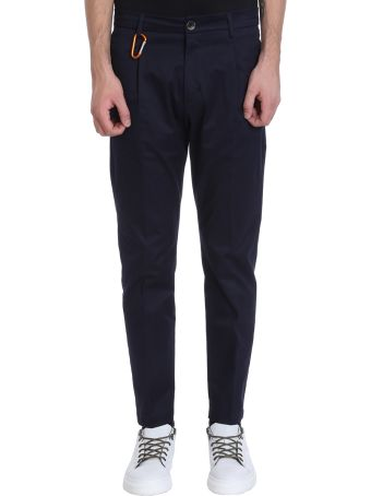 Low Brand Blue Cotton Pants
