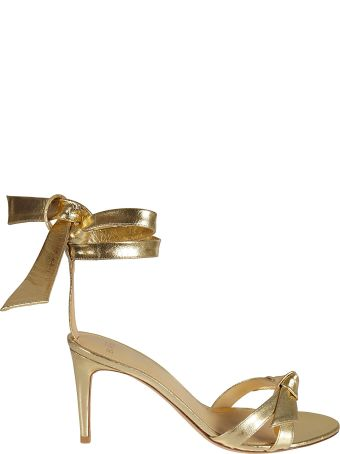 Alexandre Birman Wrap Tie Heeled Sandals