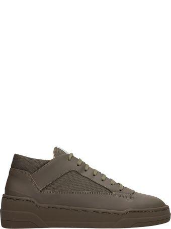 Etq Green Fabric Mt02 Sneakers