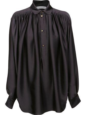 Philosophy di Lorenzo Serafini Oversized Draped Shirt