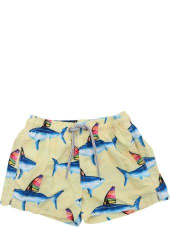 MC2 Saint Barth Saint Barth Shark Print Shorts