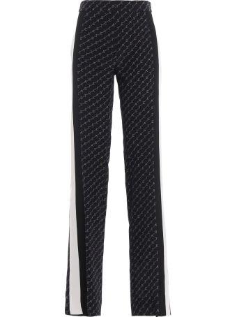 Stella McCartney Stella Monogram Silk Print Pants