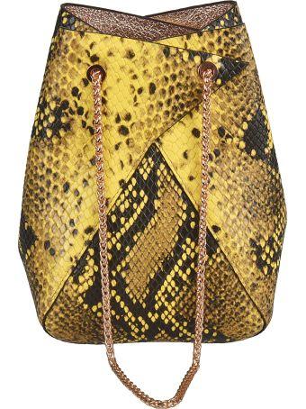 the VOLON Mini Mani Bucket Bag