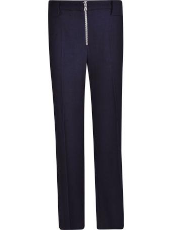 Victoria Beckham Front Zip Trousers
