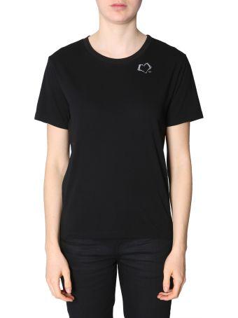 Saint Laurent Heart And  Sl  Print T-shirt