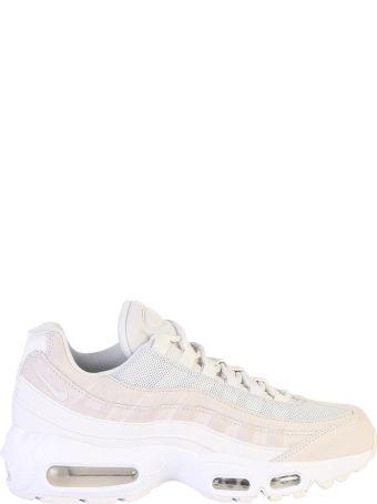 Nike Air Max 95 Premium Leather And Mesh Sneakers
