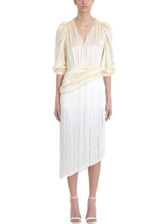 Magda Butrym Ivory Wels Dress