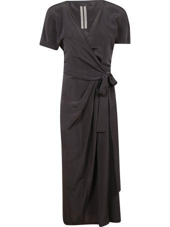 Rick Owens Draped Plunge Dress