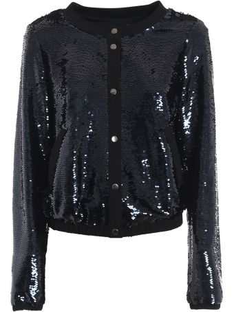 Emporio Armani Sequin Embroidered Jacket