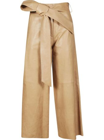 DROMe Bow Detailed Trousers