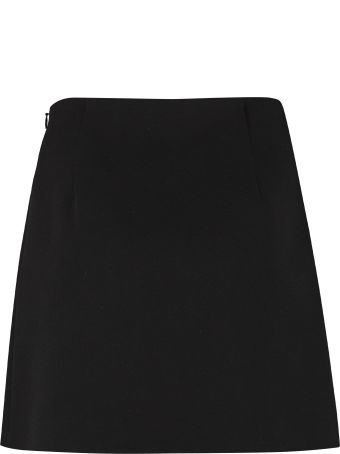 RED Valentino Asymmetric Wrap Skirt