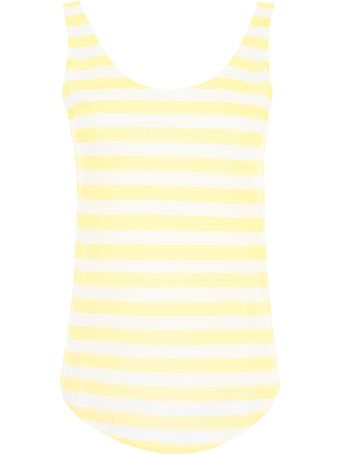 Closed Striped Tank Top