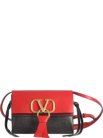 Valentino Small V-ring Shoulder Bag