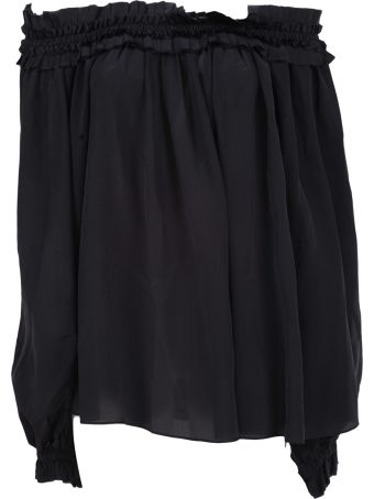 Haider Ackermann Sophora Off-the-shoulder Top