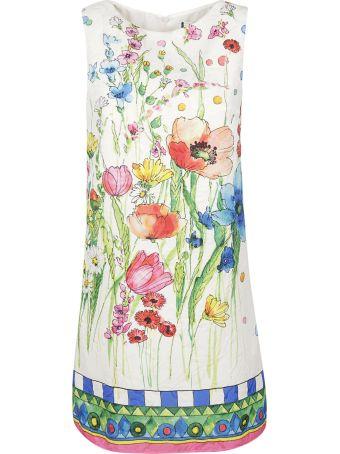 Blugirl Floral Print Short Sleeveless Dress