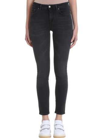 Acne Studios Climb Used Black Denim Jeans