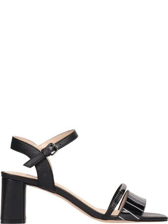 Bibi Lou Black Patent Leather Sandals