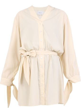 Nanushka Belted Short Dress