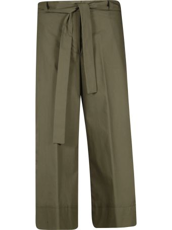 Blugirl Belted Cropped Trousers
