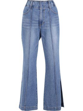 SJYP Flared Denim Jeans