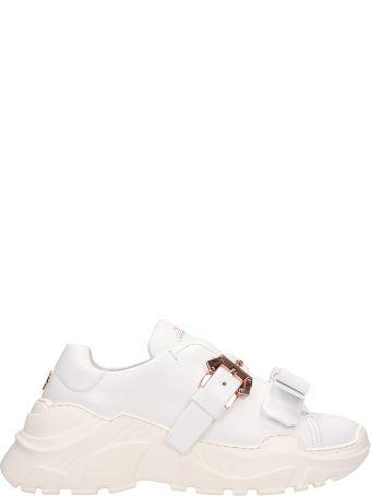Paula Cademartori Yokoo White Leather Sneakers