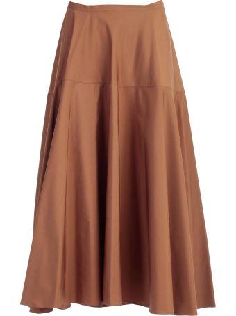 Aspesi High-rise Flared Skirt