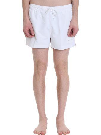 Calvin Klein Jeans White Nylon Swimwear