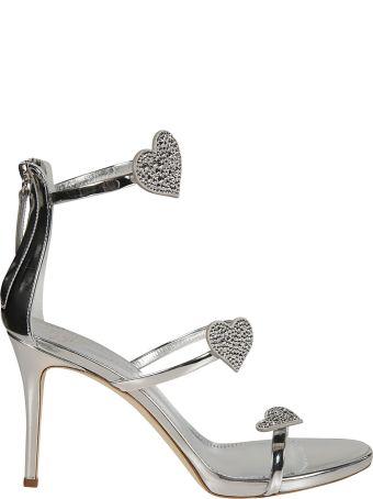 Giuseppe Zanotti Heart Embellished Sandals