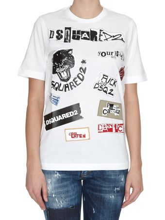 Dsquared2 Renny T-shirt With Patches