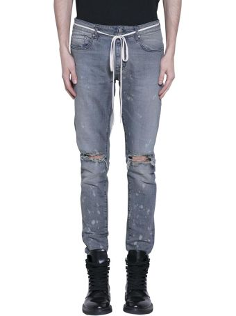 REPRESENT Destroyed Cotton Jeans