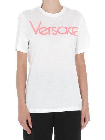 Versace Embroided Vintage Logo T-shirt