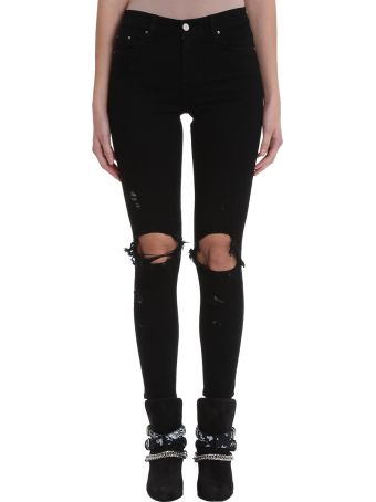 AMIRI Thrasher Jean Black Denim Jeans