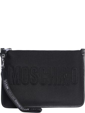 Moschino Neoprene Clutch