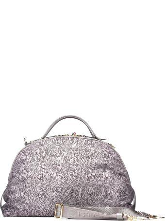 Borbonese Sexy Medium Grey Bag