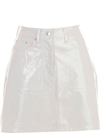 Calvin Klein Jeans Vinyl Mini Skirt