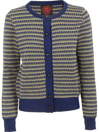 Happy Sheep Patterned Cardigan