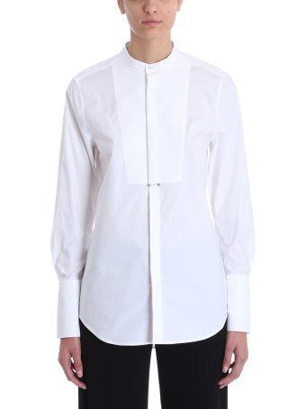 Neil Barrett White Cotton Shirt