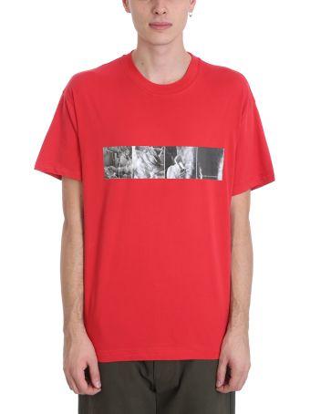 Bonsai Red Cotton T-shirt