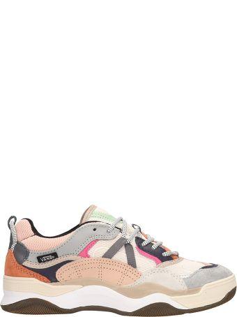 Vans Varix Wc Multi Pink Fabric Sneakers